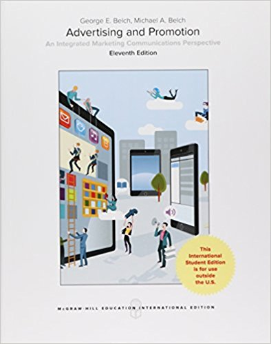 Advertising And Promotion: Integrated Marketing Communications Perspective