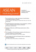 Asean Marketing Journal Vol.7 No.1 June 2015